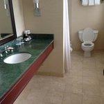 huge bathroom with natural light