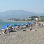 Calis beach, 2 minutes' walk from hotel