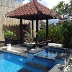 Pool pagoda