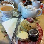 Cream Tea at The Bath Bun
