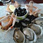Assiette de fruits de mer, miam miam
