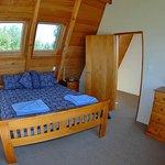 Wheki Cottage, upstairs bedroom