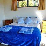 Wheki Cottage, downstairs bedroom