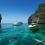 Koh Haa and its beautiful lagoon