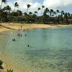 Napili Beach on a nice day