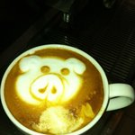 our funny latte art