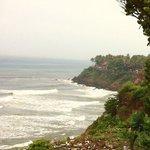 The varkala cliff - the best part of varkala