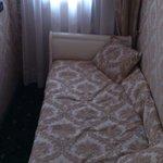 Skitig säng
