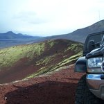 Views from Hekla tour by a Super Jeep