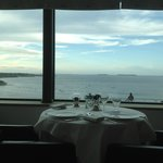 La Bélouga, a restaurant with a view...