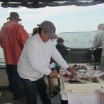 Barb filleting fish