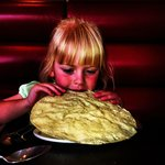 My daughter enjoying Shimla Spice
