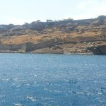 Spinalonga, seen from the boat