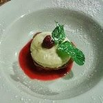 Mousse choco blanc et fraise