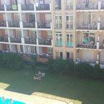vue de notre balcon....