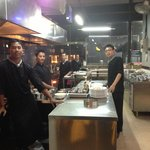 Food amazing waiters waitress  help made dinning amazing and a happy experience