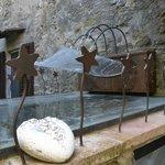Particolare della fontanella....bello il suo rumore la mattina appena svegli, rilassante....