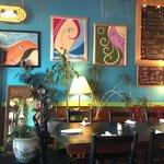 Sun City Cafe Eccletic Decor