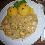 chicken with polenta
