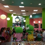 VIP Party at Sweet Frog Frankfort on 08/29/2013