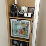VIP room coffee machine/minibar/safe