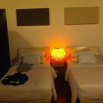 Double room, with single beds