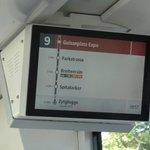 on tram, city is 5th stop (Zytglogge) from hotel (Guisanplatz, 10 mins)