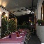 i tavoli in veranda