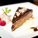 Yummy chocolate tart