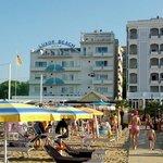 l'hotel e la sua vicinanza alla spiaggia!
