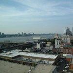 Vue sur l'Hudson river