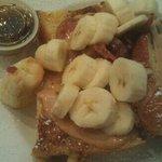 Peanut, Bacon, and Banana French Toast