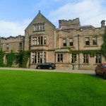The front of Ellingham Hall