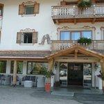 Ingresso Hotel Les Alpes