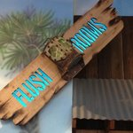 Restroom Sign at Destin's Mellow Mushroom