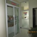 baggage room and laundry room