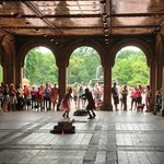 Thoth and Lila'Angelique performing @ Central Park