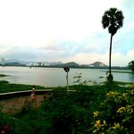 Powai lake in the evening