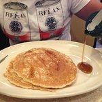 porzione da due pancakes