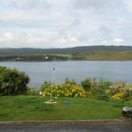 a sunny view of Loch Greshornish