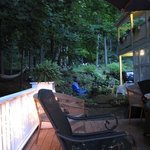 Side deck for relaxing