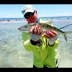 My first Bonefish on Roatan