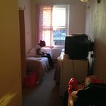 Double room with twin beds.