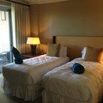 2nd room, 2 single beds