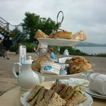 Afternoon tea Carsington Water style