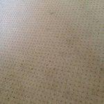 vloerkleed aan vervanging of goede reiniging toe
