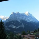 The Eiger from the balcony