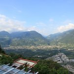 Un paysage superbe, vue sur Merano