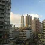 View from Metropark Mongkok room #0806.