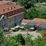Blick auf das Hotel vom Michaelsberg